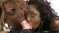 10002 Black chicks deepthroat long white schlong preview