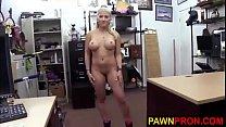 Lovely Blonde Stripper Bang for the Buck