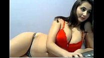 Busty Nepali camgirl teasing us on Live69Girls.Com