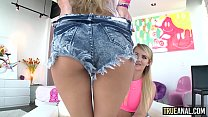 TRUE ANAL All about anal with Chloe and Cali ◦ new girls xxx thumbnail