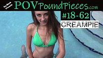 POV Hottie Creampie - Download Clip #18-62 on J...