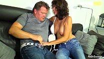 AMATEUR EURO - Amateur Passionate Couple In Homemade Sex - Elke S.