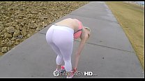 FantasyHD - Little blonde Maddy Rose has sweaty...