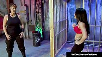 Govt Agent Its Cleo Tickled By Lesbo Villain Saharra Huxly! Preview