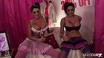 Anal threesome with busty TWINs! pornhub video