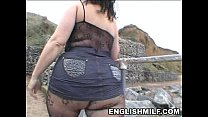 Big butt English milf in bodystocking public ass pornhub video