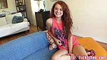 Cute Teen Alice is Ready to Give Footjob for FuckedFeet!