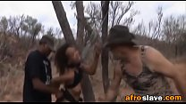 African sex slave eats actual dirt