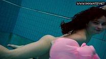 Liza Bubarek enjoys swimming thumbnail