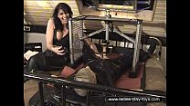 suspended rubber slave milked preview image