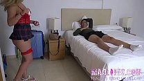Mar masturbates and plays with Lucia