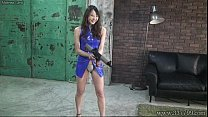 slaves three whipping risa femdom Japanese