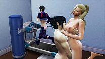 Ino and Sasuke Husband Deceived in Sexual Exercises Wife Fucked in front of her Cuckold Husband Naruto Hentai Netorare