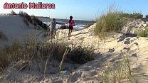 PUBLIC BLOWJOB on THE BEACH! thumbnail
