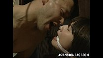 brazzers latest scenes ~ Tied Up Japanese Hottie Fucked With A Machine thumbnail