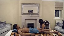 Interracial massage ends in teen seduction and hot cowgirl creampie POV Indian