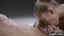 Joymii sensual double cumming massage with perfect teen girl thumbnail