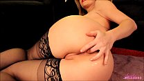 Horny blonde masturbates and fingers her ass tumblr xxx video