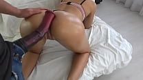 Tiny Teen Fucked By Huge Horse Cock - Massive Creampie - Carry Light - Powsex.com