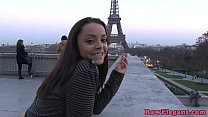 Pickedup french babe assfucked by black bloke