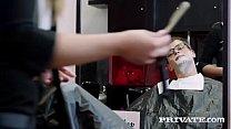 Cutie Teen Hairdresser Lady Bug Tries Anal Vorschaubild