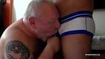 Daddy Zev Barebacks Topher Phoenix