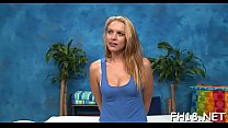 Very hawt 18 year old pretty gets screwed hard from behind by her massage therapist Preview