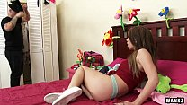 Screenshot Beautiful 18Yea rOld Latina Teen Stretched to  n Stretched to