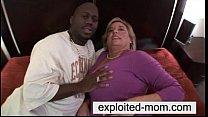 Big tits mom interracial