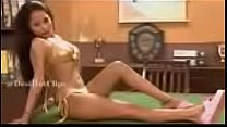 Sexy golden Bikini