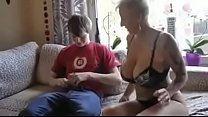 Busty step mom fucked by son's friend