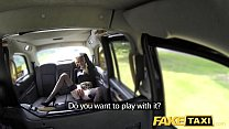 Fake Taxi Sexy Holland lady with short skirt and stockings preview image
