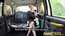 Fake Taxi Sexy Holland lady with short skirt and stockings Vorschaubild