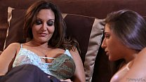 Busty Mom Ava Addams and Abella Danger's Thumb