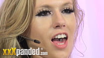 Michelle Moist Blonde British Babeshow Babe Unc...