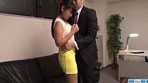 Ravishing fuck at the office along Yu Shinohara thumbnail