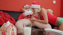 Sexy Skinny Vanessa Cage Gets Fucked By Thin Santa