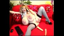 Big tits fat milf-gain 3$ per minute working from home on lavorainwebcam.com