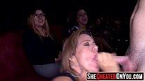 29 Horny sluts swallow cum at cfnm party01