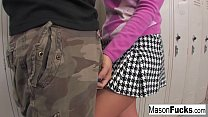 Mason Moore was a naughty girl at class and Pro... thumb