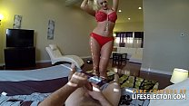 POV afternoon with busty bombshell Summer Brielle