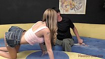 Kat Makes Her Stepdaddy Lick Her Asshole - 69VClub.Com