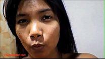 9 weeks pregnant thai asian teen get anal creampie in black leher - 9Club.Top