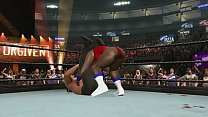 lauren vs the great khali clip