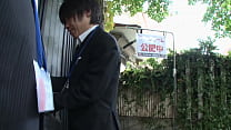 Japanese estate agent fucks the guest