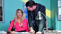 Sex Tape With Slut Busty Hot Office Nasty Girl (August Ames) video-08's Thumb