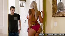 Brazzers - Mommy Got Boobs - Hot Mom Swims scene starring Nina Elle and Xander Corvus