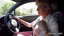 Unfaithful british mature lady sonia exposes he... Thumbnail