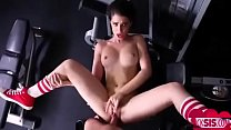 Hot Teen Fucked During Gym Workout