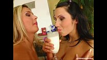 Sperm Swap Nymphomniac horny chicks with nasty oozing action